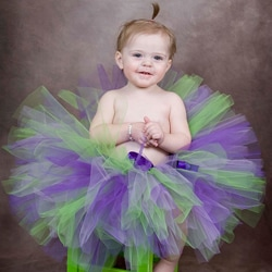 Purple/ Green Serendipity Tutu