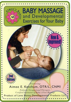 Aimees Babies-Baby Massage/Developmental Exercises For Your Baby (DVD)