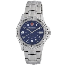 Swiss Military Men's Blue Dial Watch