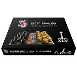Super Bowl XLV Dueling Checker Set 7698656