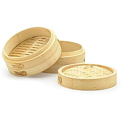 Bamboo 3-piece 9-inch Steamers (Set of 2)