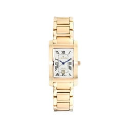 Croton Women's 'Famous Look' Classic Stainless Steel Dress Quartz Watch