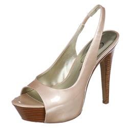 Jessica Simpson Women's 'Astor' Patent Slingback Heels