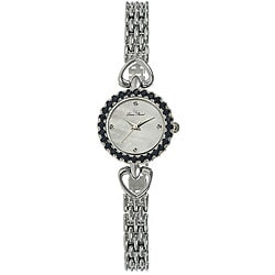 Lucien Piccard Women's Monmartre Collection Blue Sapphire Watch