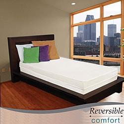 Reversible Comfort 4-inch Twin-size Foam Mattress