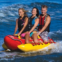 Airhead Hot Dog 3-rider In-line Towable