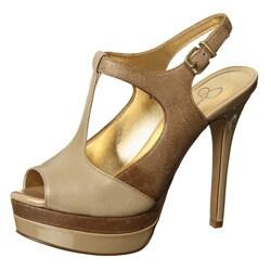 Jessica Simpson Women's 'Elso' T-strap Platform Heels