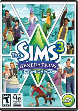 PC/MAC - The Sims 3: Generations - By Electronic Arts
