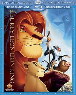 The Lion King - Diamond Edition; Spanish (Blu-ray/DVD)