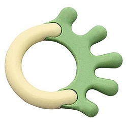 Green Sprouts Green Cornstarch Hand Teether