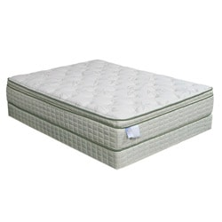 Eco-Pedic Euro Pillow-top Premium King-size Mattress Set