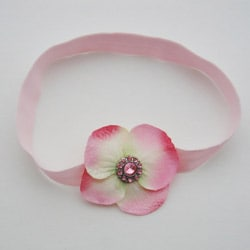 Light Pink Dainty Boutique Flower Headband