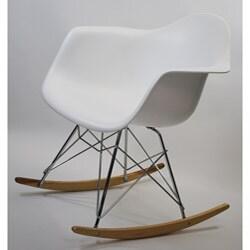 Retro Rocker Arm Chairs (Set of 2)