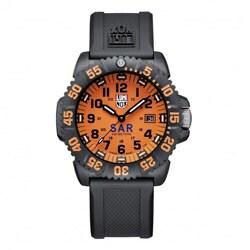 Luminox Men's Navy Colormark Orange Dial Watch