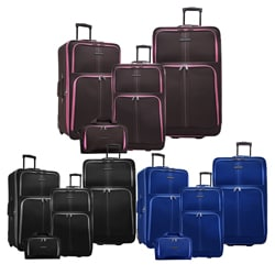 Travel Select Oregon 4-piece Expandable Luggage Set