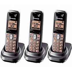 Panasonic KX-TG1061M DECT 6.0 Dark Grey Handset Kit