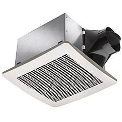 White 130 CFM Humidity Sensor Fan