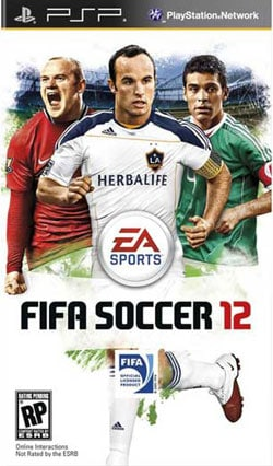 PSP - FIFA Soccer 12 - By Electronic Arts