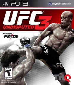 PS3 - UFC Undisputed 3 - By THQ
