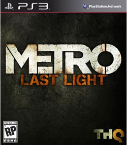 PS3 - Metro Last Light - By THQ