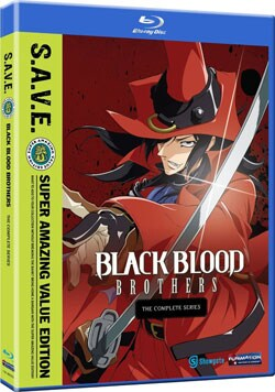 Black Blood Brothers - The Complete Series - S.A.V.E. (Blu-ray Disc)