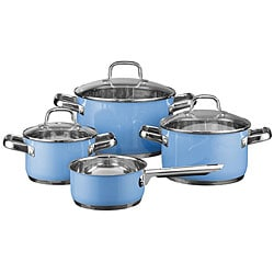 Elo Classic Color Stainless Steel 7-piece Cookware Set
