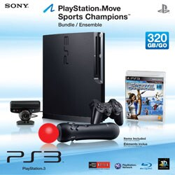 PS3 - 320GB Sports Champ Bundle