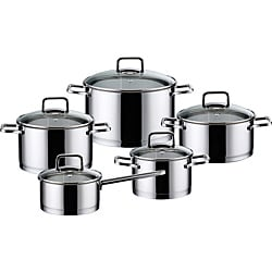 Elo Dolomit 18/10 Stainless Steel 10-piece Cookware Set