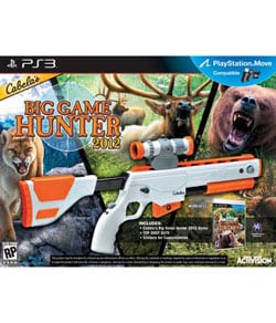 PS3 - Cabelas Big Game Hunter 2012 w/gun
