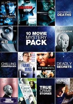 10-Movie Mystery Pack (DVD)