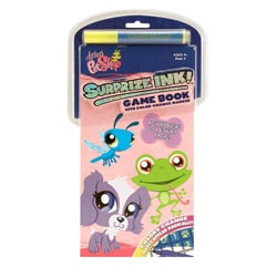 Giddy Up Littlest Pet Shop III Surprise Ink Activity Book