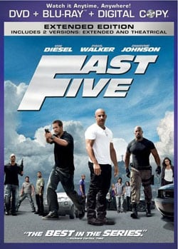 Fast Five (Extended Edition) (Blu-ray/DVD) 8236325