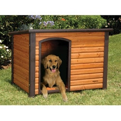 Extreme Outback Large Log Cabin Dog House