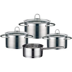 Elo Profi Classic Collection 7-piece 18/10 Stainless Steel Cookware Set