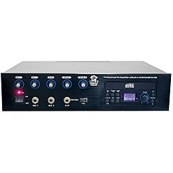 Pyle Professional PA Amplifier w/Bulit In DVD/CD/MP3/USB/70v output (Refurbished)