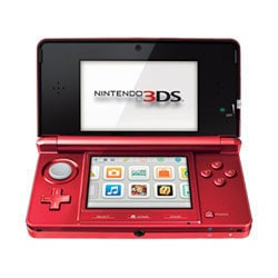 NinDS 3DS - Flame Red