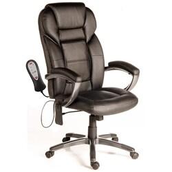 Comfort Products Relaxzen Shiatsu Massage Leather Executive Chair