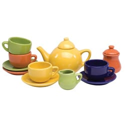 Schylling Children's 13-piece Toy Tea Set 8338331