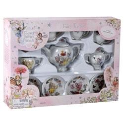 Schylling Flower Faires Porcelain Tea Set 8338339