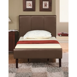 Walnut Brownie Twin-size Bed