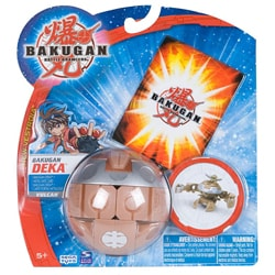 Bakugan Alpha Hydrinoid Booster Pack Toy with Paper Ability Card 8359361