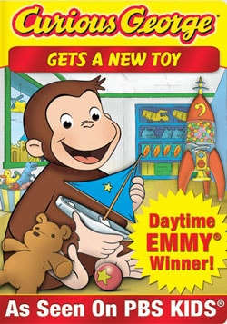 Curious George-Gets A New Toy (DVD)