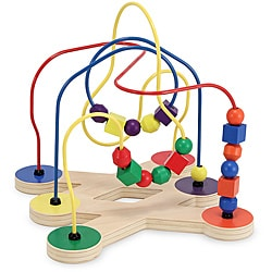 Melissa & Doug Classic Toy Bead Maze Play Set 8396533