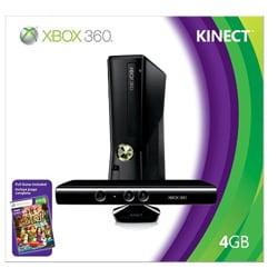 X360 4GB Kinect Bundle