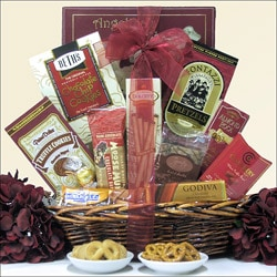 Chocolate Delights: Chocolate Gift Basket