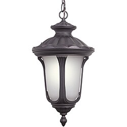 Woodbridge Lighting Westbrook 1-light Rust Outdoor Chain Hung Pendant