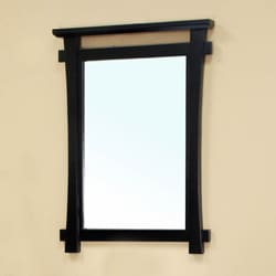 Jasmine Black Bathroom Vanity Mirror
