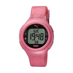 Puma Women's 'Pulse' Metallic Pink Digital Watch