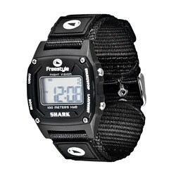 Freestyle Unisex 'Shark Classic' Black Nylon Strap Digital Watch