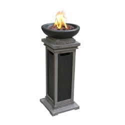 Ravenswood Envirostone 1-pound Outdoor Gas Column Fire Bowl